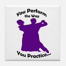 Ballroom Dance Tile Coaster