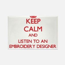 Keep Calm and Listen to an Embroidery Designer Mag