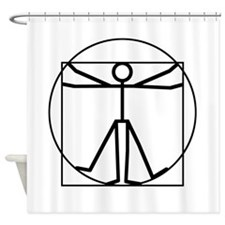 vitman fun blk 00 Shower Curtain