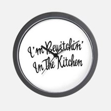 Bewitchin' In The Kitchen Wall Clock
