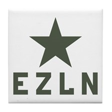EZLN Zapatista Tile Coaster