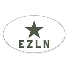 EZLN Zapatista Oval Decal