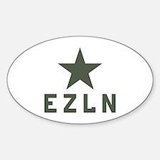 EZLN Zapatista Oval Decal