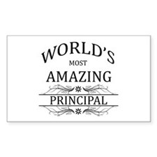 World's Most Amazing Principal Decal