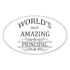 World's Most Amazing Principal Decal