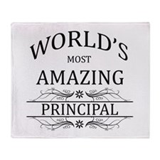 World's Most Amazing Principal Throw Blanket