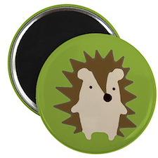 hedgehog green Magnets