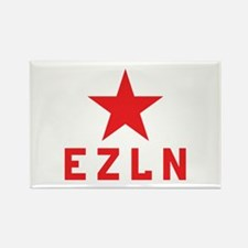 EZLN Marcos Rectangle Magnet