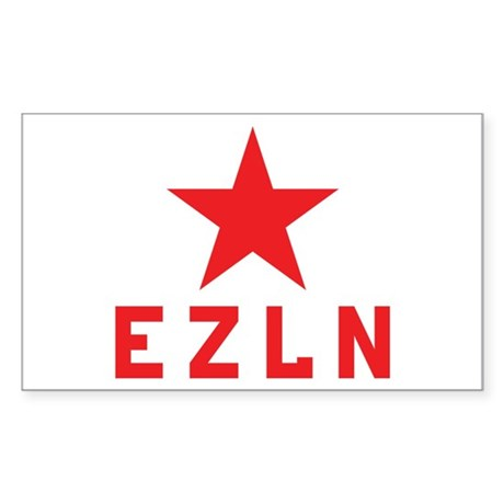 EZLN Marcos Rectangle Sticker
