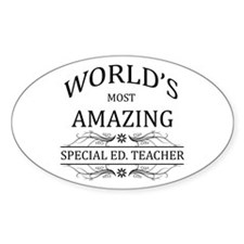 World's Most Amazing Special Ed. Te Decal