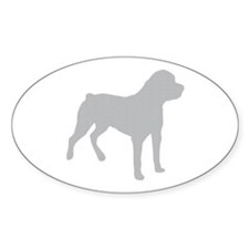 Rottweiler Silhouette Decal