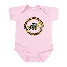 Hvy Eq Opr - Front End/Backhoe Infant Bodysuit