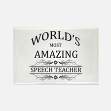 World's Most Amazing Sp Rectangle Magnet (10 pack)