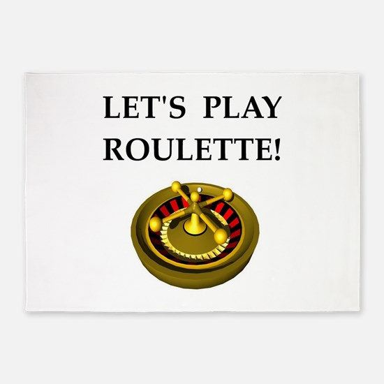 roulette 5'x7'Area Rug