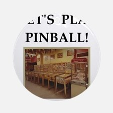 pinball Ornament (Round)