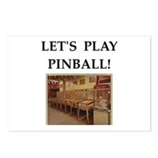 pinball Postcards (Package of 8)