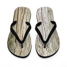 Cedar Bark Flip Flops