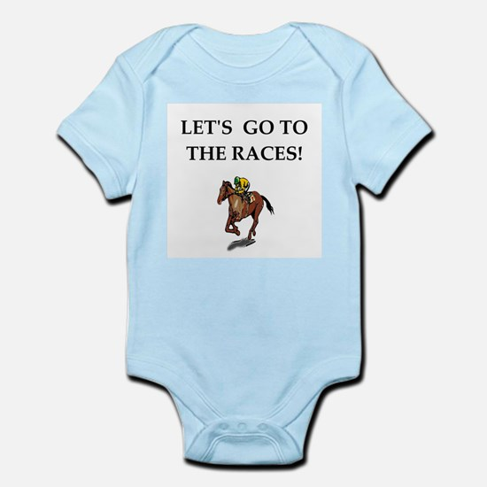 horse racing Body Suit