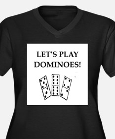 dominoes Plus Size T-Shirt