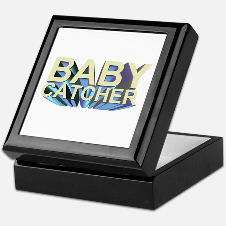 Baby catcher - for midwives - Keepsake Box