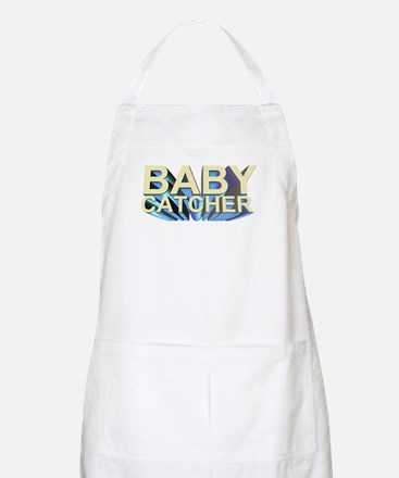 Baby catcher - for midwives -  BBQ Apron