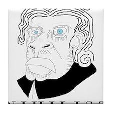 Nihilist Philosophy Tile Coaster