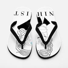 Nihilist Philosophy Flip Flops