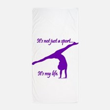 Gymnastics Beach Towel