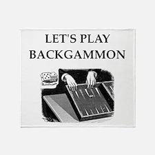 backgammon Throw Blanket