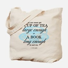 Tea Quote Tote Bag