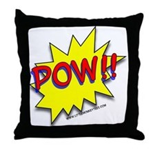 POW!! Superhero Throw Pillow