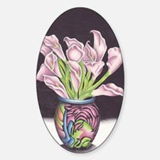 Lily's of the Vase Decal