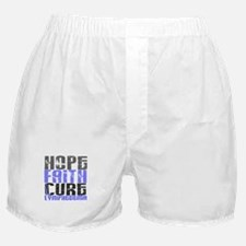 Lymphedema Hope Faith Cure Boxer Shorts