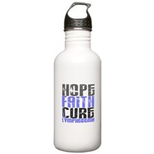 Lymphedema Hope Faith Sports Water Bottle