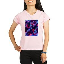 Dragonfly Cherry Splash Performance Dry T-Shirt