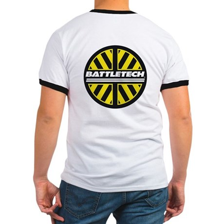 Yellow & Black BT Logo Ringer T