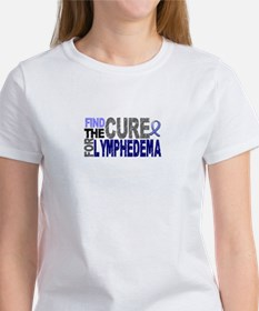 Lymphedema Find The Cure Women's T-Shirt