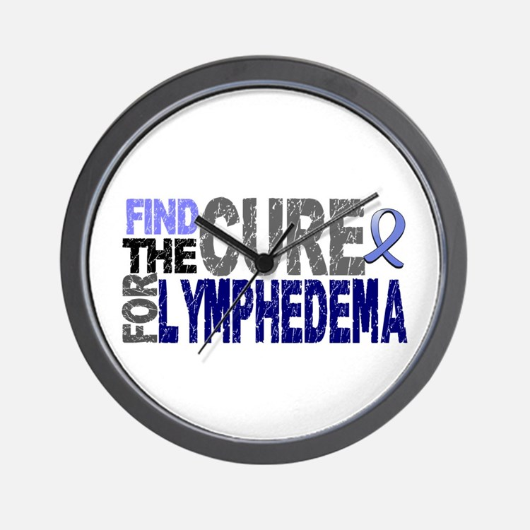 Lymphedema Find The Cure Wall Clock