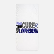 Lymphedema Find The Cure Beach Towel