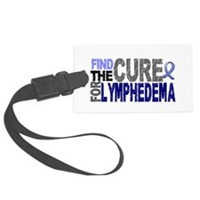 Lymphedema Find The Cure Luggage Tag
