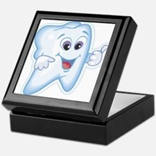 Healthy Happy Tooth Dentist Keepsake Box