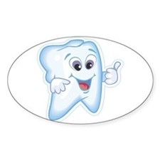 Healthy Happy Tooth Dentist Decal