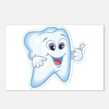 Healthy Happy Tooth Dentist Postcards (Package of
