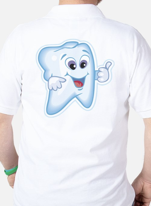 Healthy Happy Tooth Dentist T-Shirt