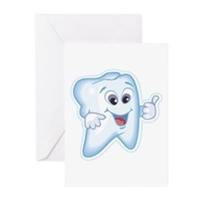 Healthy Happy Tooth Dentist Greeting Cards (Packag