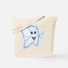 Healthy Happy Tooth Dentist Tote Bag