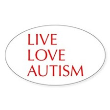 LIVE-LOVE-AUTISM-opt-red Decal