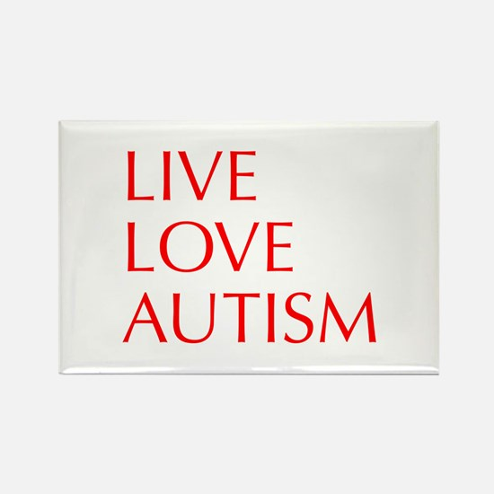 LIVE-LOVE-AUTISM-opt-red Magnets