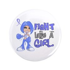 """Lymphedema FLAG 42.8 3.5"""" Button (100 pack)"""