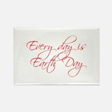 every-day-is-earth-day-scr-red Magnets
